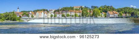 An image of the beautiful Landsberg am Lech at Bavaria Germany