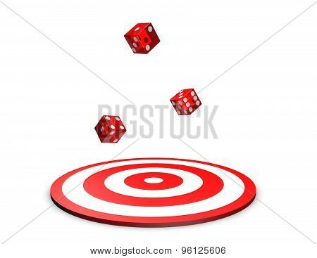 Game And Luck Abstract Concept Illustration.
