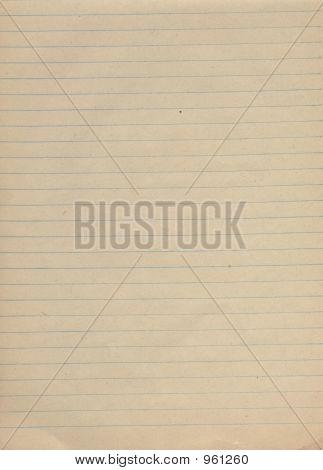 School Note-Book Paper