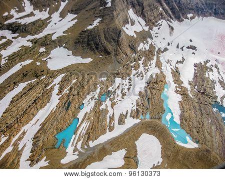 Closeup glacier