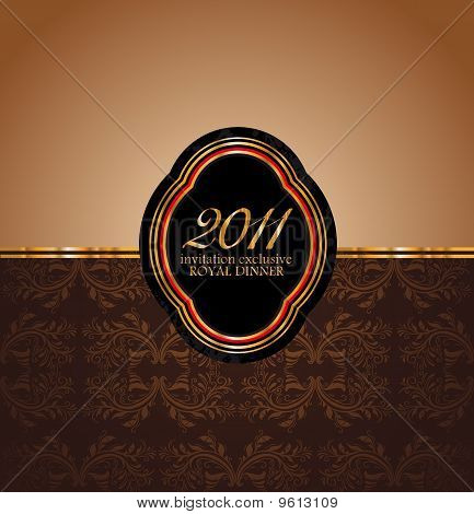 2011 New Year Royal Dinner Invitation