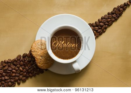 Still Life - Coffee With Text Malawi