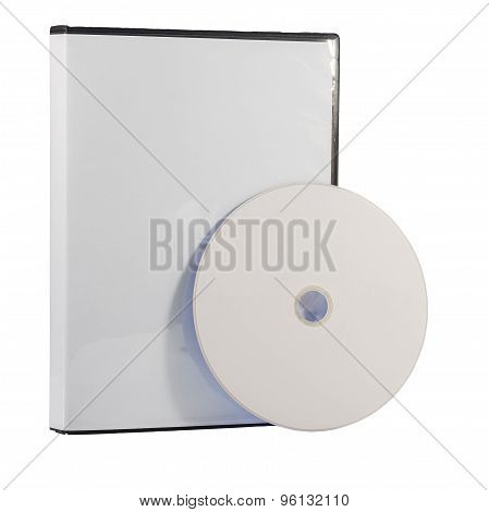Blank Dvd Case And Disc