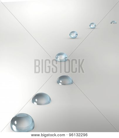 drops of water 3D