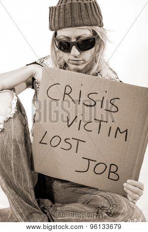 Lost job