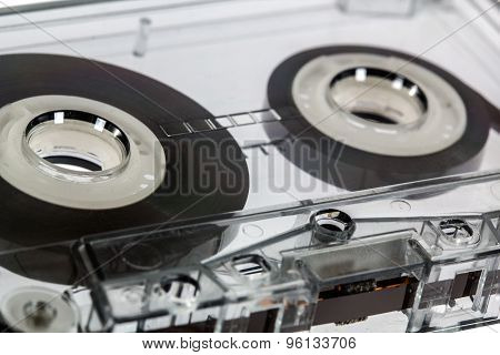 ?lose Up Of Vintage Audio Cassette