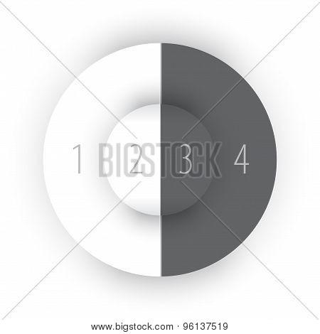 Gray Abstract Circles