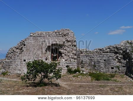 Ruin of St Michael castle on Ugljan