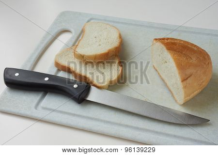 Cutting Bread