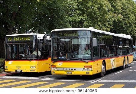 Buses In Lucerne