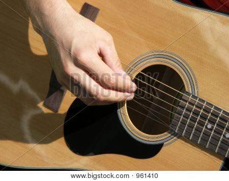 Strumming My Guitar