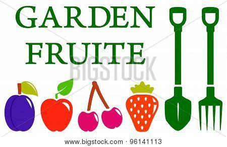 garden fruite set