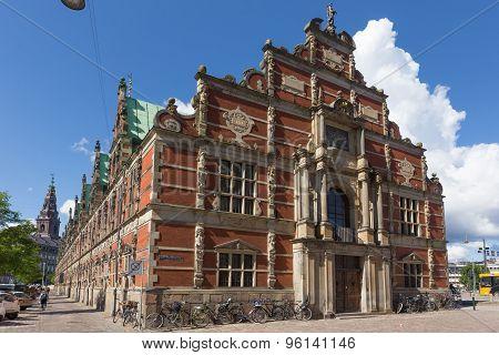 East Side Of Copenhagen Stock Exchange Building