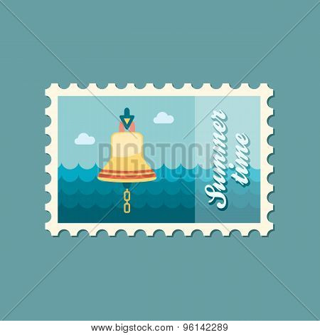 Bell Marine Flat Stamp