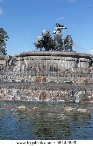 Gefion Fountain Copenhagen