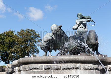 Gefion Fountain Detail