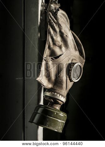 Chernobyl - Gas Mask Hanging On Locker