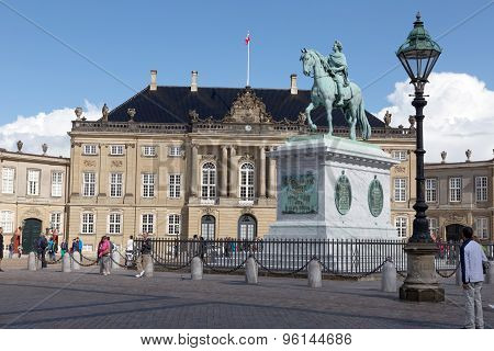 Amalienborg Sqare Kopenhagen