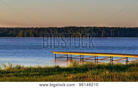 Mooring On The Lake
