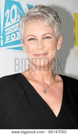 SAN DIEGO, CA - JULY 10: Jamie Lee Curtis arrives at the 20th Century Fox/FX Comic Con party at the Andez hotel on July 10, 2015 in San Diego, CA.