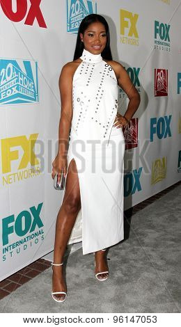 SAN DIEGO, CA - JULY 10: Keke Palmer arrives at the 20th Century Fox/FX Comic Con party at the Andez hotel on July 10, 2015 in San Diego, CA.