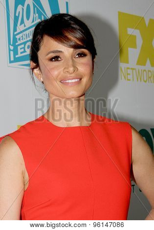 SAN DIEGO, CA - JULY 10: Mia Maestro arrives at the 20th Century Fox/FX Comic Con party at the Andez hotel on July 10, 2015 in San Diego, CA.