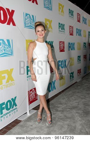 SAN DIEGO, CA - JULY 10: Billie Lourd arrives at the 20th Century Fox/FX Comic Con party at the Andez hotel on July 10, 2015 in San Diego, CA.