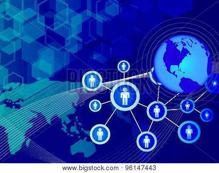 Network Technology Communication Background