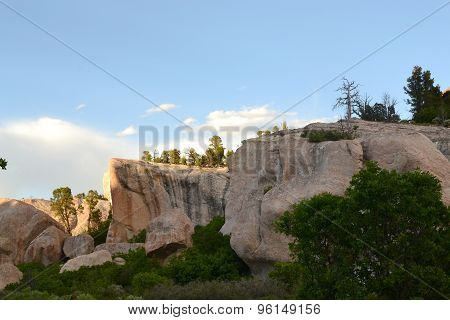 Rugged Rock Formation