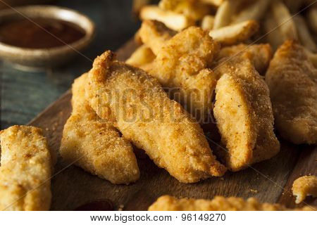 Homemade Breaded Chicken Tenders