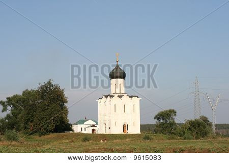 Church of the Intercession on the Nerl river in Bogolyubovo