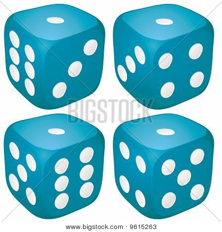 Dice with 1