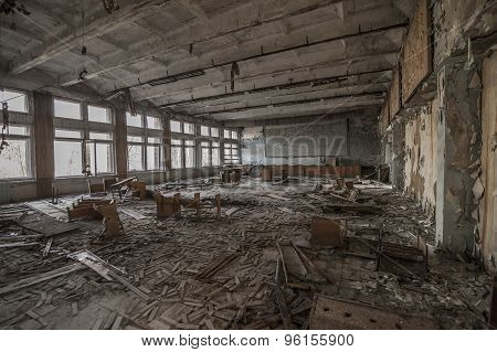 Chernobyl - Abandoned Classroom In Pripyat