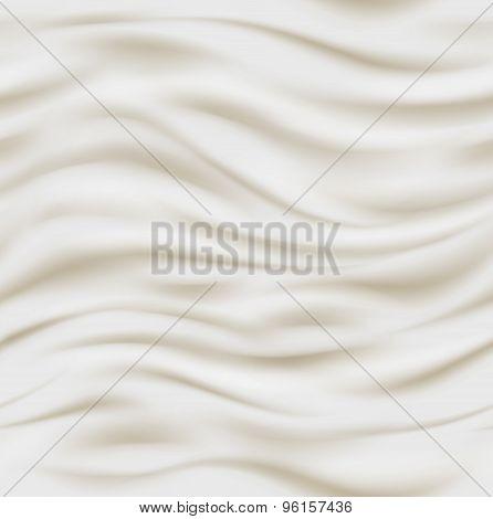 Fresh sour cream background