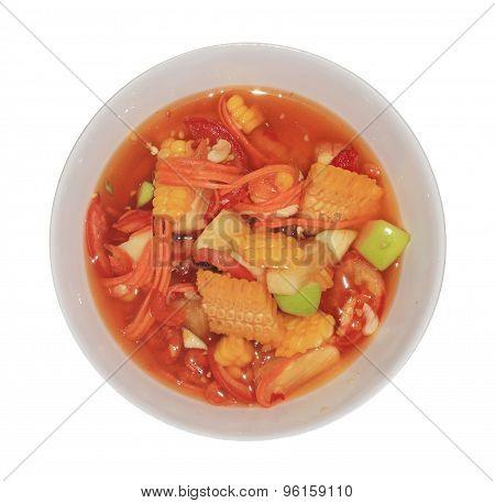 Fruite Somtum Thai Food Menu