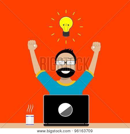 Designer enjoys success in its activities