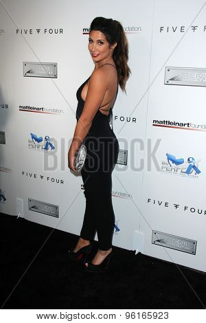 SAN DIEGO - JUL 16:  Nazli Mojiri at the 9th Annual Celebrity Bowl for Charity at the Lucky Strike on July 16, 2015 in Los Angeles, CA