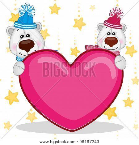 Lovers Polar Bears