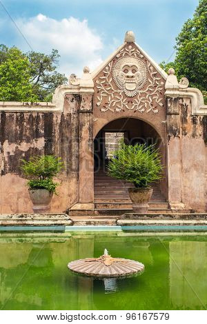 Taman Sari water palace of Yogyakarta on Java island, Indonesia