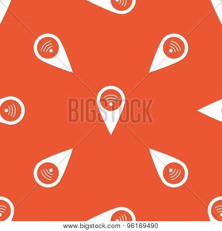 Orange Wi-Fi marker pattern