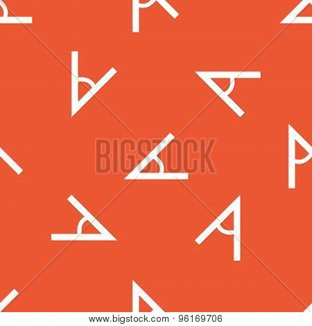 Orange angle pattern