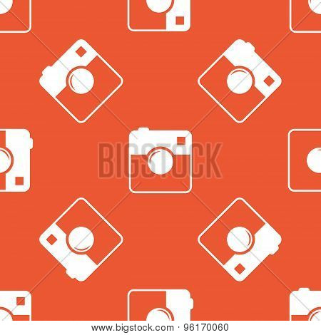Orange square camera pattern