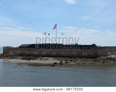 Fort Sumter outside view