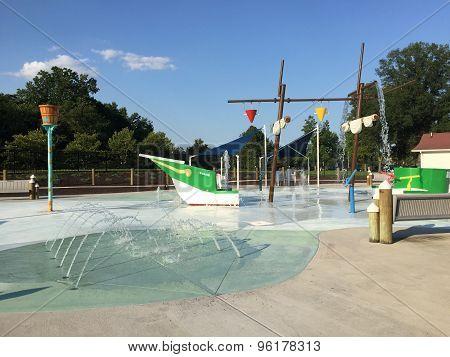 Our Special Harbor Spray Park