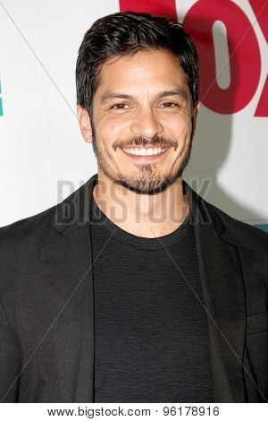 SAN DIEGO, CA - JULY 10: Nicholas Gonzalez arrives at the 20th Century Fox/FX Comic Con party at the Andez hotel on July 10, 2015 in San Diego, CA.