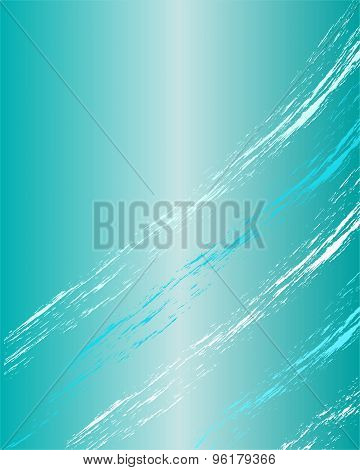 Turquoise vertical shiny background.