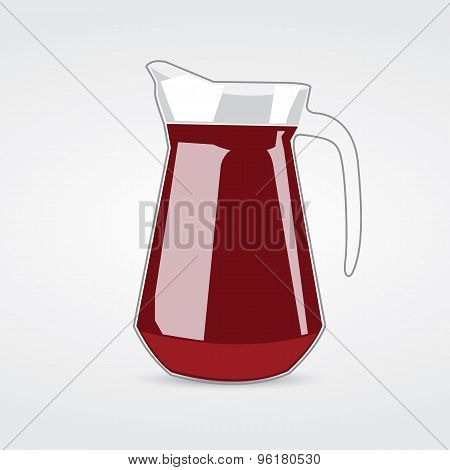 Jug Of Cherry Juice