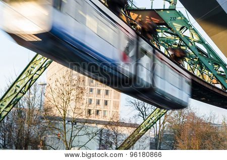 Wuppertal Suspension Railway.