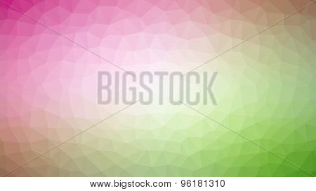 Magenta Green Polygonal Mosaic Background, Vector Illustration, Creative Business Design Templates