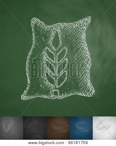 bag of grain icon
